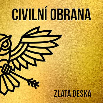Civilní Obrana Zlatá deska
