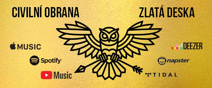 zlata deska apple music spotify youtube